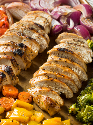 Sheet Pan Chicken with Vegetables